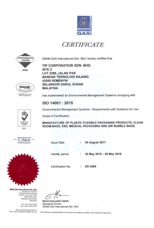 SIRIM-ISO14001-2015-BTK