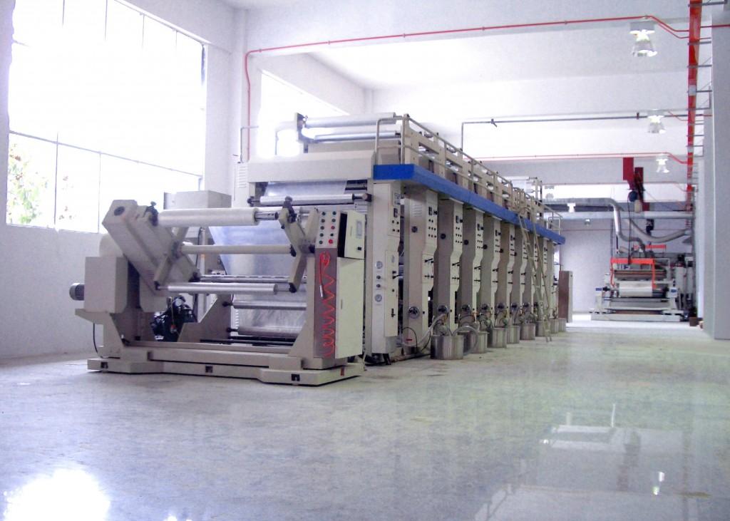 8-Colors Gravure Printing Press